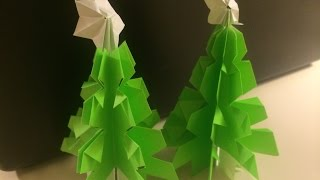 Origami For Beginners - Christmas Tree