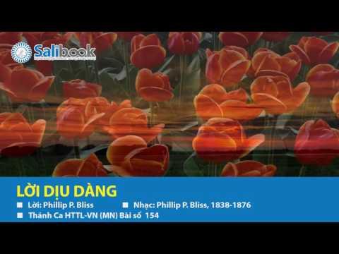 [Karaoke Thánh Ca HTTL-VN] 154 Lời Dịu Dàng - Salibook