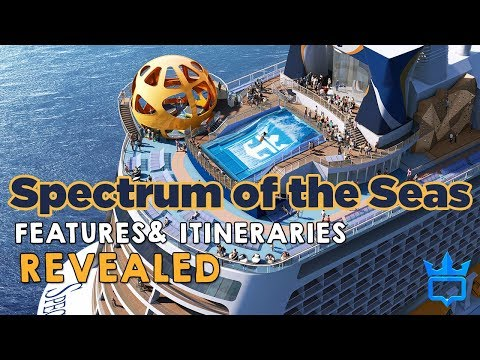Spectrum of the Seas features & itineraries revealed!