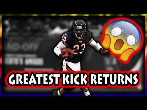 Greatest Kick Returns in Football History