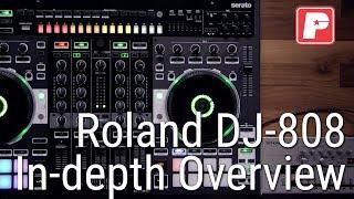 Roland DJ-808 Serato In-Depth Overview