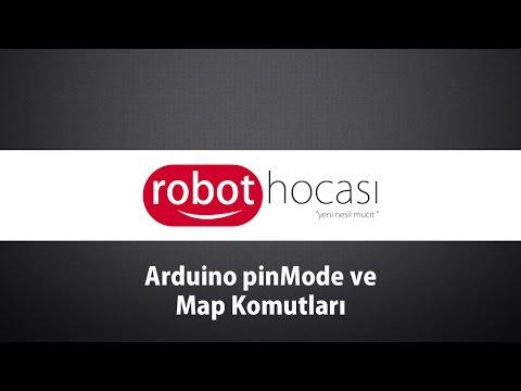 Arduino Dersleri #13 - PinMode Ve Map Komutları