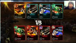 Gameplay heavy metal machines