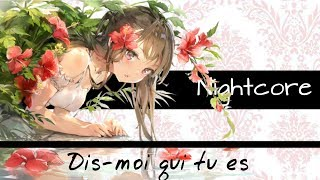 「Nightcore」→ Dis-moi qui tu es → (Lyrics)