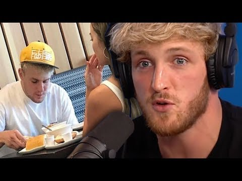 Logan Paul Defends Jake Paul After Erika Costell Reunion Photo Goes Viral