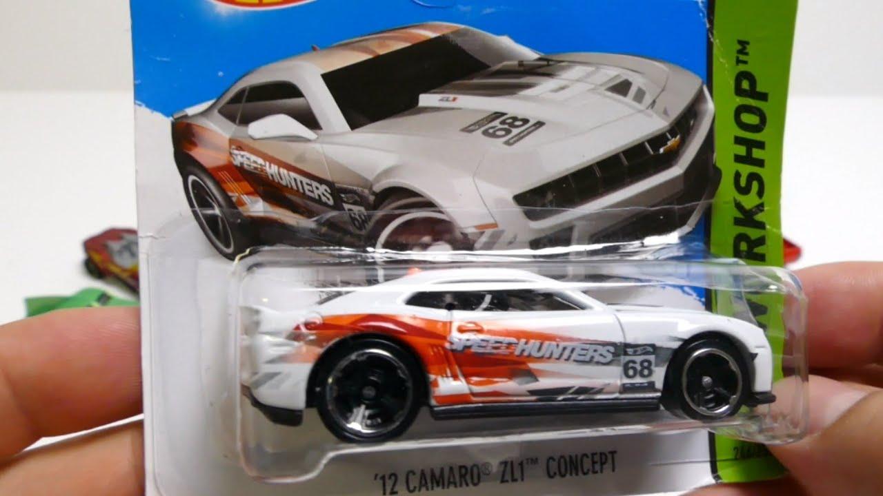 Hot Wheels Car 12 Camaro Zl1 Youtube