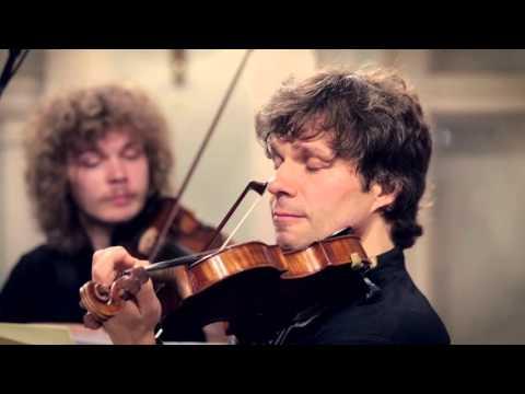 Handel  Sarabande in D minor  Rodion Zamuruev violin and Mobilis Ensemble