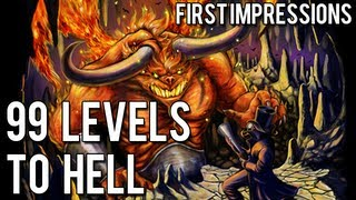 First Impressions - 99 Levels To Hell - Gameplay [PC/Desura]