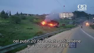 Israelul a doborat o drona iraniana iar Siria a doborat un avion israelian F16