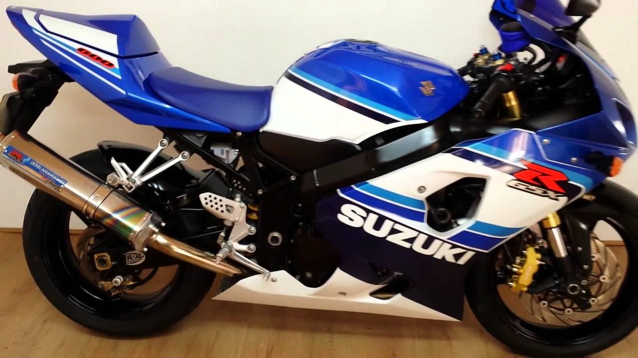 Suzuki GSXR 600 K5 20th Anniversary 14000M - YouTube