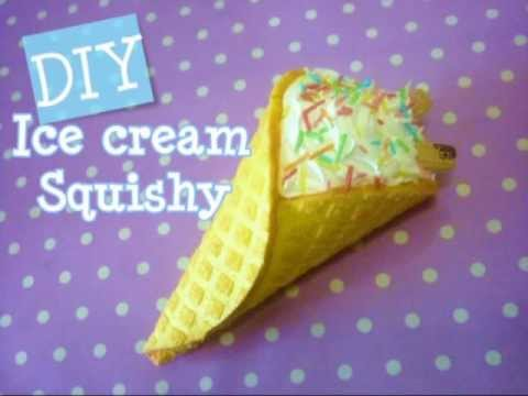 Ice Cream Squishy Tutorial Youtube