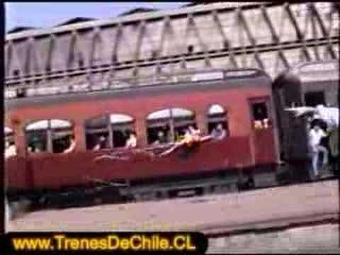 Salida del Expreso del Recuerdo a Valparaíso - 31 dic 1994