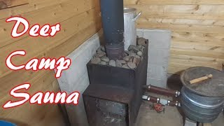 How Our Wood Stove Sauna Works