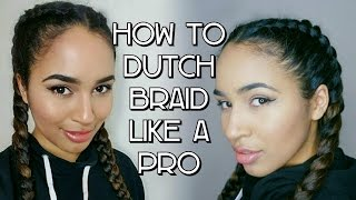 How To: Inverted French Braid/Dutch Braid/Boxer Braid Tutorial   Lana Summer