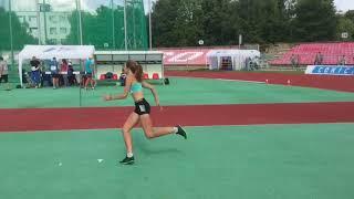 Высота,девушки на юношеском чемпионате Украины по легкойатлетике
