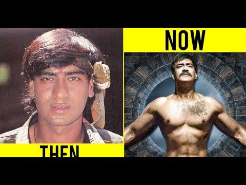THEN AND NOW BOLLYWOOD ACTERS