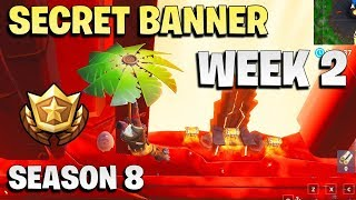 Secret banner week 2 - Fortnite season 8