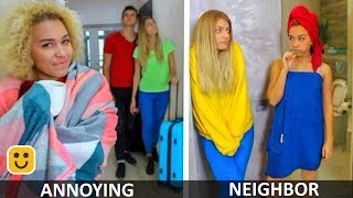 Annoying Neighbor! Funny Videos and Facts