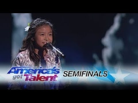 "Celine Tam: 9-Year-Old Stuns The Audience With ""How Far I'll Go"" - AGT 2017 React & Analysis"