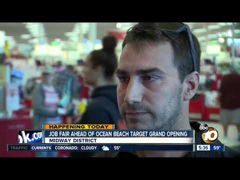 Target Job Fair For Ocean Beach Store
