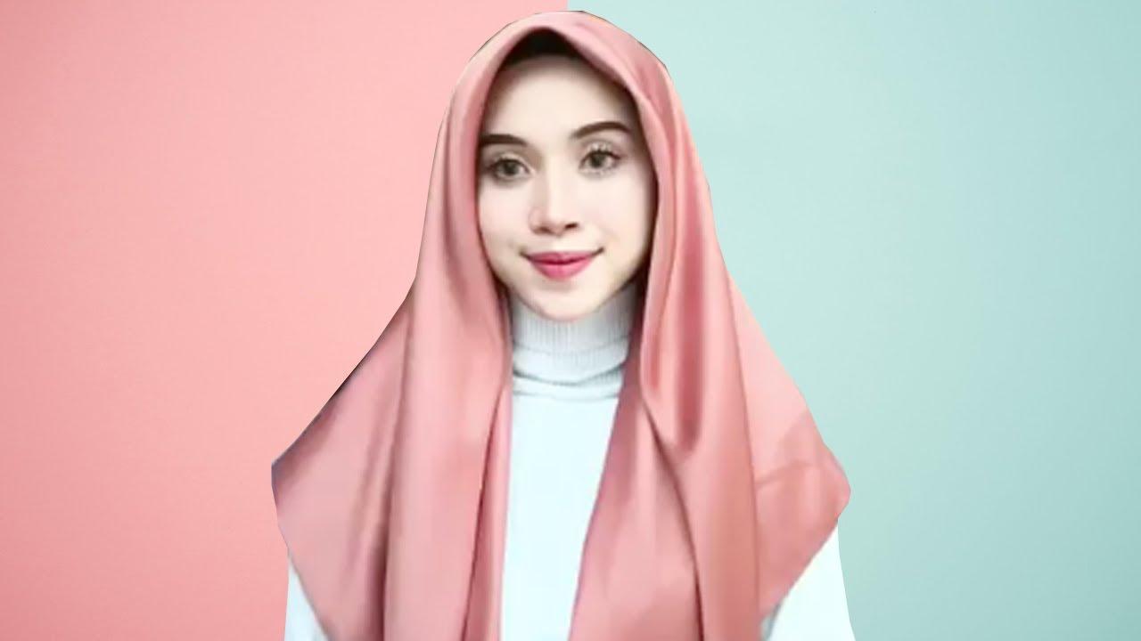 3 tutorial memakai hijab segiempat yg simpel, menarik dan