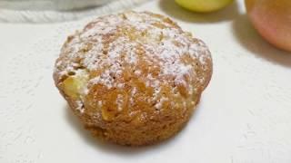 Овсянка+ЯБЛОКИ и вкуснятина к чаю у вас на столе. Простой рецепт вкусного десерта. Рецепт кексов.