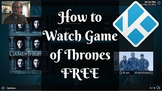 How to Watch Game of Thrones for FREE using Kodi and Exodus