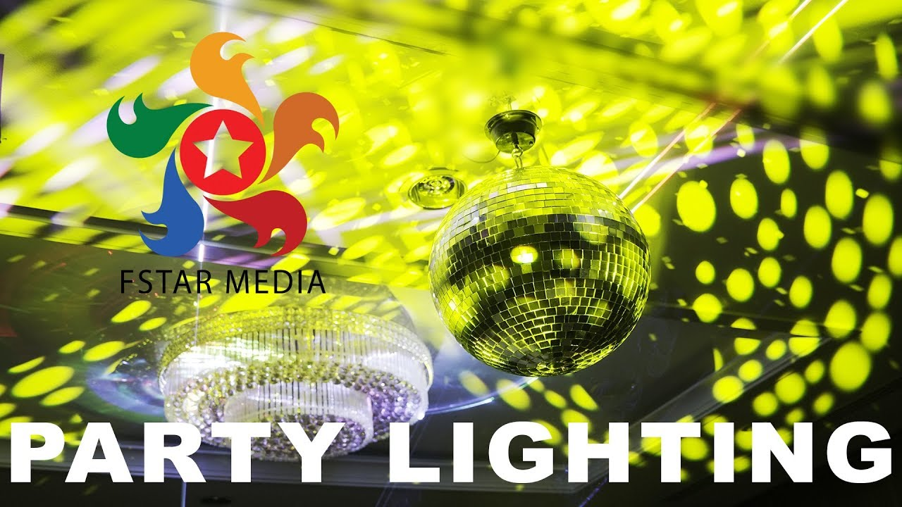 Vancouver party lighting design youtube