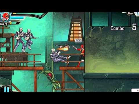 Игры Мегафорс Могучие Рейнджеры Самураи