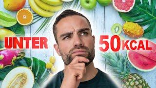 UNTER 50kcal -TOP 6 Lebensmittel zum ABNEHMEN