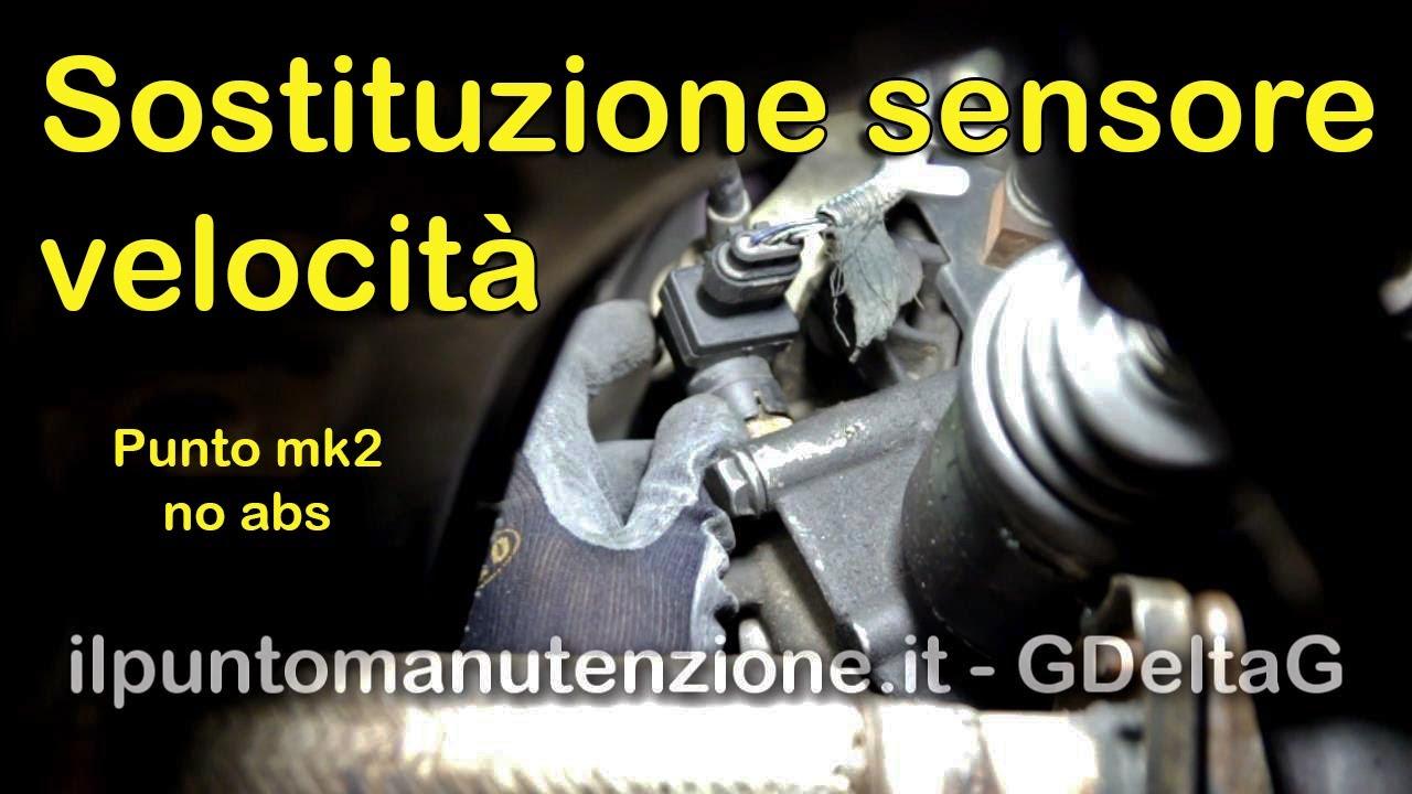 Sostituzione Sensore Velocit 224 Fiat Punto Mk2 Senza Abs