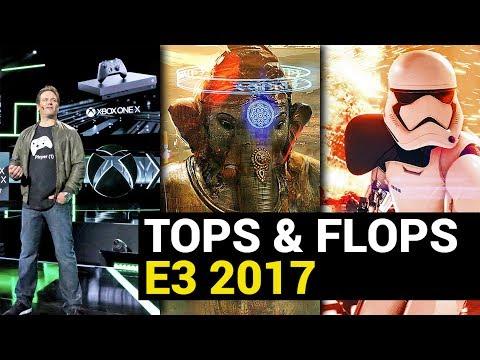 E3 2017: Die Tops und Flops und besten Games