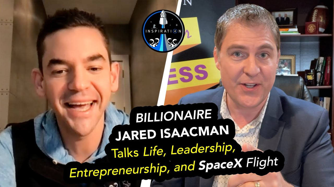 Billionaire JARED ISAACMAN Talks Life, Leadership, Entrepreneurship, and SpaceX Flight