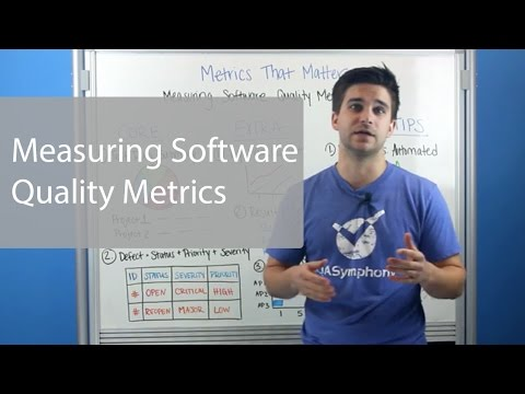 Measuring Software Quality Metrics