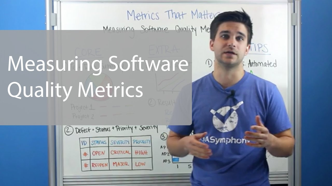 Software Quality Metrics You Need To Know - YouTube