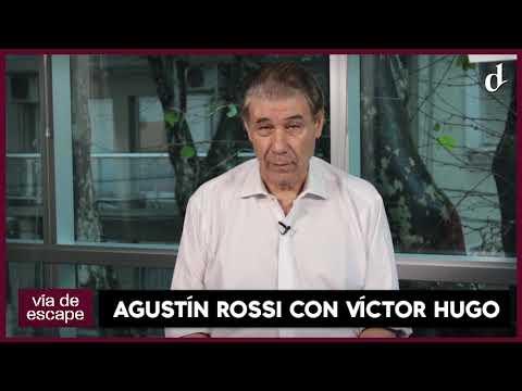 Este Domingo a las 22.30 hs, Agustín Rossi en Vía de Escape