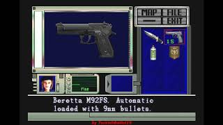 Resident Evil (Sega Saturn) - (Longplay - Jill Valentine | Best Ending Path)