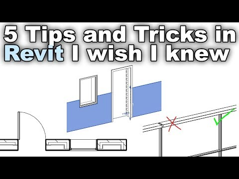 5 tips and tricks in Revit I Wish I Knew When I Started!