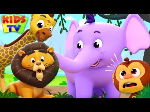 Exercise Song | The Supremes Cartoons | Kindergarten Nursery