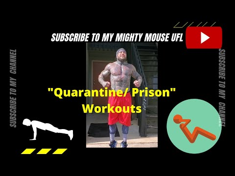 """Prison"" Workouts, Body Weight Only"