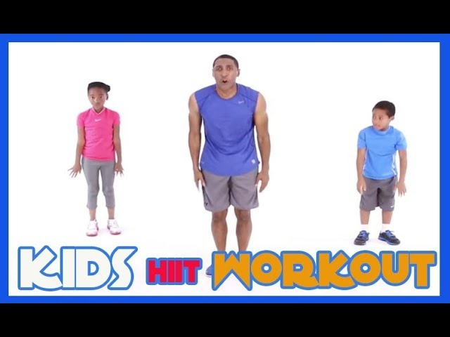 Kids HIIT Workout 2