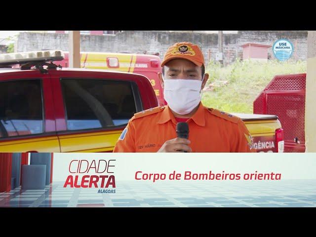 Corpo de Bombeiros orienta como prevenir incêndios em residências