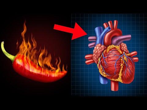 Was passiert mit deinem Herzen, wenn du jeden Tag scharfes Essen isst