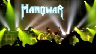 MANOWAR - INTRO  CALL TO ARMS 18.1.2010 FÜRTH STADTHALLE