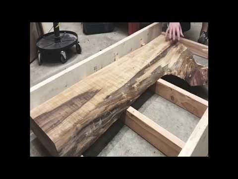 Making a Live Edge Coffee Table