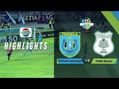Full Highlight: Persela Lamongan (4) vs (1) PSMS Medan | Go-Jek Liga 1 bersama Bukalapak
