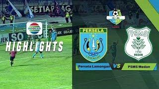 Persela Lamongan (4) vs (1) PSMS Medan - Full Highlight | Go-Jek Liga 1 bersama Bukalapak