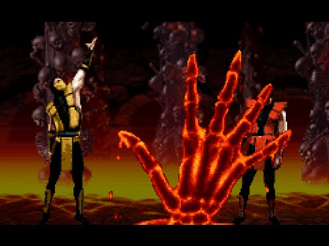 Mortal Kombat 3 *All Fatalities/Animalities/Friendships/Babalities* (HD)