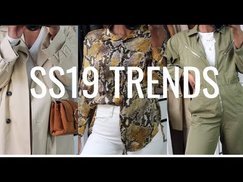 SPRING/SUMMER TRENDS 2019 & OUTFIT IDEAS 4