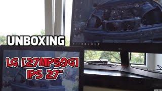UNBOXING - LG [27MP59G] IPS 27 Collu LED Gaming Monitors - VLOG